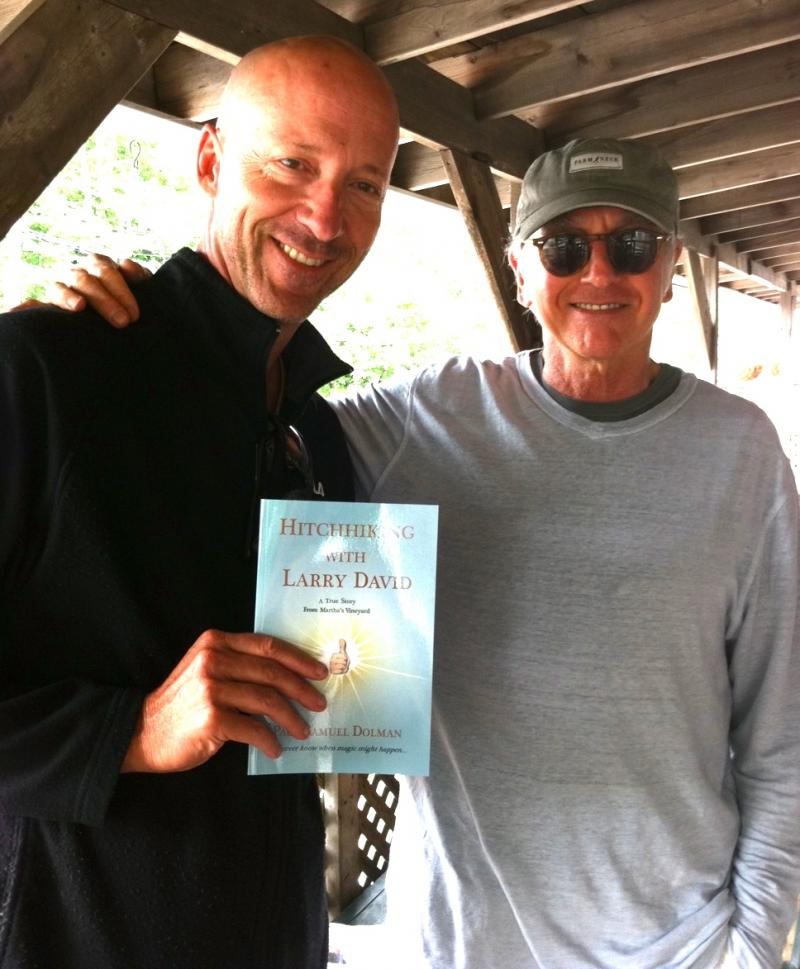 Larry David Gives Thumbs Up To Author Of Hitchhiking With Larry David!